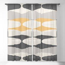 Zaha Bee Sheer Curtain