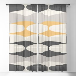 Zaha Bee Sheer Curtain
