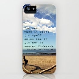 The Sea Casts its Spell iPhone Case