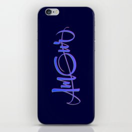 Amour iPhone Skin
