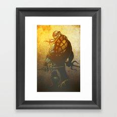 A little too Raph! Framed Art Print