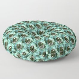 A Limited Point of View Floor Pillow