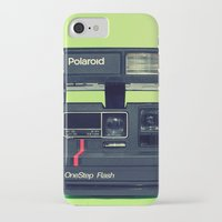 polaroid iPhone & iPod Cases featuring Polaroid by Brieana