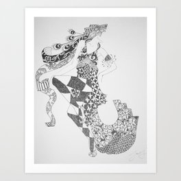 Dancer Series - Ziegfeld Art Print