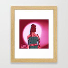 Spidey!Cosima 1 Framed Art Print