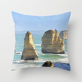 Earth's Evolution Throw Pillow