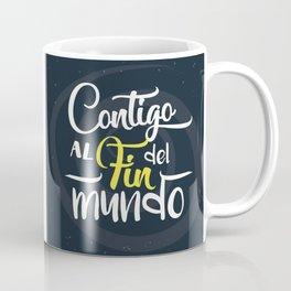 Contigo_frase Coffee Mug
