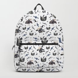 Cats and ravens Backpack