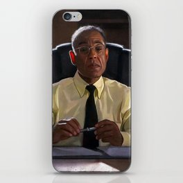 Gus Fring In The Office At Los Pollos Hermanos - Better Call Saul iPhone Skin