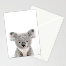 Baby Koala Portrait Stationery Cards