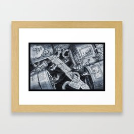The Battle that Never Will Be. Framed Art Print