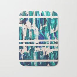 """Waves"" Collaborative Study Bath Mat"