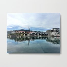 Frank Kitts Lagoon Metal Print