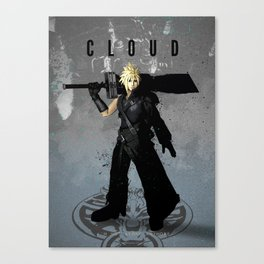 Legends of Gaming - Cloud Canvas Print