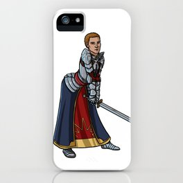 Strong female pose - Cullen iPhone Case