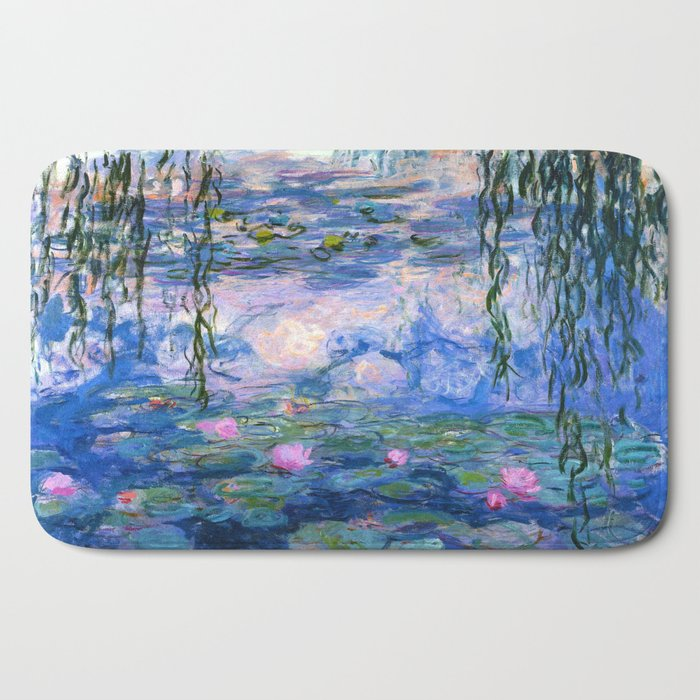 Water Lilies Monet Bath Mat