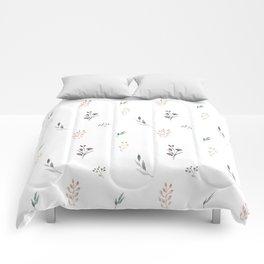 Little botanics pastel pattern Comforters