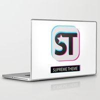 supreme Laptop & iPad Skins featuring Supreme WordPress Theme by SupremeFactory