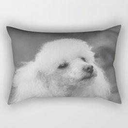 Toy Poodle Rectangular Pillow