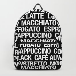 Coffee Roll Backpack