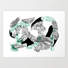 nothing nothing Art Print