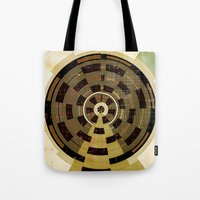 record Tote Bags featuring Record by Tammy Kushnir