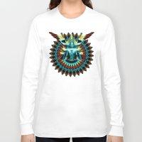 metropolis Long Sleeve T-shirts featuring METROPOLIS by Tia Hank