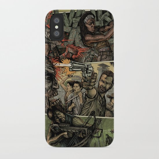 Walking Dead iPhone Case