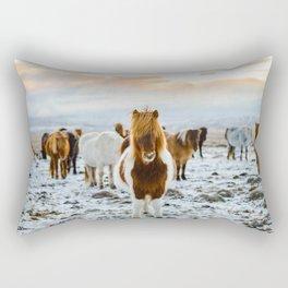 Nordic Wild Rectangular Pillow