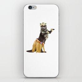 Otter the Hawaiian Dancer iPhone Skin