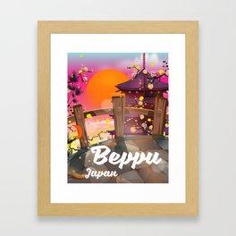 Beppu Japan Framed Art Print