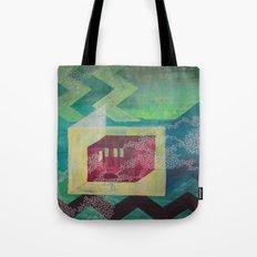 Geometric green Tote Bag