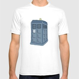 Abstract TARDIS T-shirt