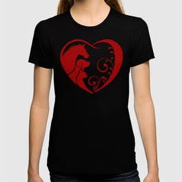 Valentine's Heart for Animal Lovers T-shirt