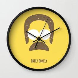 Okely Dokely Wall Clock
