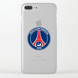 PSG paris saint-germain Clear iPhone Case