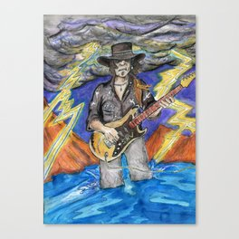Texas Flood Canvas Print