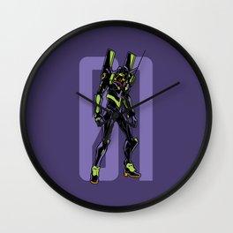 160 Eva Robot Wall Clock