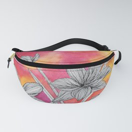 Amaryllis in Pink Sun Fanny Pack