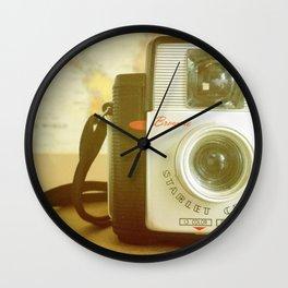 Travel Photographer Wall Clock
