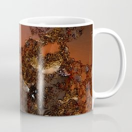 Study of textures and terra cotta Coffee Mug