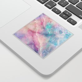Iridescent marble Sticker