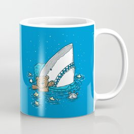 The Sleepy Shark Coffee Mug
