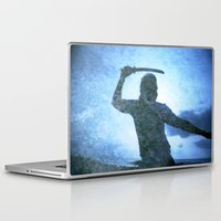 samurai Laptop & iPad Skins featuring Samurai by Deprofundis
