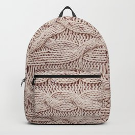 sweater Backpack