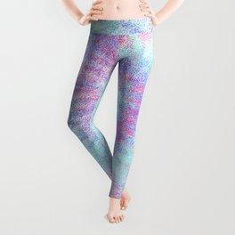 Pastel Rainbow Swirl Tie Dye Leggings