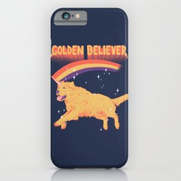 Golden Believer iPhone Case