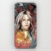 kill bill iPhone & iPod Skins featuring Kill Bill by RJ Artworks