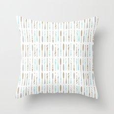 River OAR Ocean Throw Pillow
