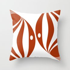 Twins Throw Pillow